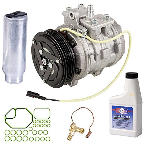 OEM AC Compressor w/A/C Repair Kit For Geo Metro 1989 1990 1991 1992 1993 1994 - BuyAutoParts 60-84313RN New