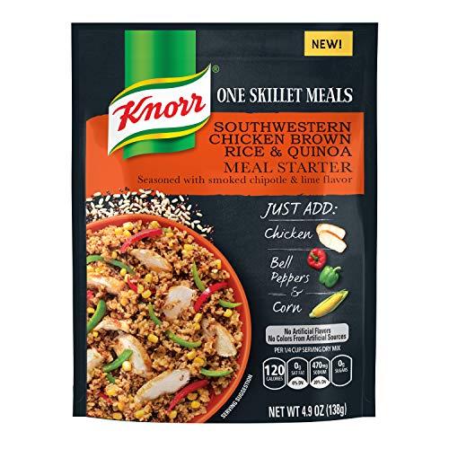 Knorr One Skillet Meals Meal Starter, Southwestern Chicken Brown Rice & Quinoa, 4.9 oz