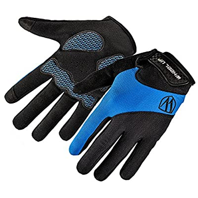 EUBUY Unisex Men Women Winter Gloves,Hot Thermal Touch Screen Gloves Outdoor Windproof Sport Snowboard Mittens for Cycling Ski Hiking Hunting Climbing Bike Blue S
