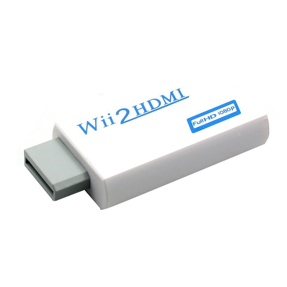 Green-state Wii to HDMI 720P 1080P HD Output Upscaling Converter-Supports All Wii Display Modes to HDTV /& Monitor