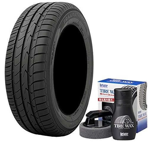 【4本セット】 低燃費タイヤ トーヨー(TOYO) TRANPATH MPZ 195/65R15 91H タイヤワックス SurLuster S-67 付き B07B2HM2MK