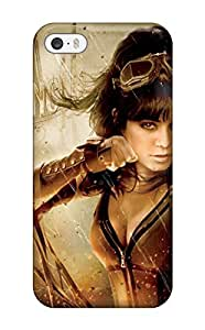 Iphone 5/5s Case Cover - Slim Fit Tpu Protector Shock Absorbent Case (warrior)