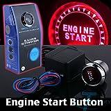 Universal 12V Car Engine Start Push Button Switch Ignition Starter Kit Red LED