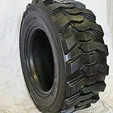Set of Four (4) 12-16.5 Skid Steer Loader Tire, 16 PLY, NHS SKS 400