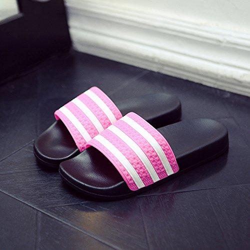 de playa zapatillas un Zapatillas un de antideslizante de interior par fresco Cool con El baño verano DogHaccd rojo2 home y moda luciendo stay femenina estilo masculino g7wdxIqt