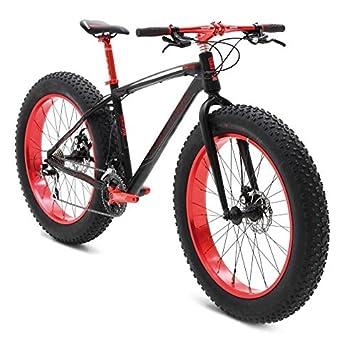 Vertek - Bicicleta fat bike «Big Boy», de aluminio, neumáticos: 26