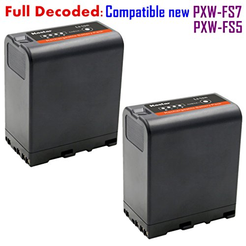 [Fully Decoded] Kastar BP-U66 Battery (2-Pack) for Sony BP-U90, BP-U60, BP-U30 work for Sony PXW-FS5, PXW-FS7, PXW-X180, PMW-100, PMW-150, PMW-150P, PMW-160, PMW-200, PMW-300, PMW-EX1, PMW-EX1R, PMW-EX3, PMW-EX3R, PMW-EX160, PMW-EX260, PMW-EX280, PMW-F3,  by Kastar