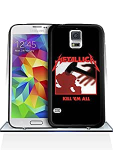 Personalized Galaxy S5 Funda Case Metallica Music Theme Colorful Retro Ultra Thin High Quality Hardshell Back Protector Skin For Samsung Galaxy S5 i9600