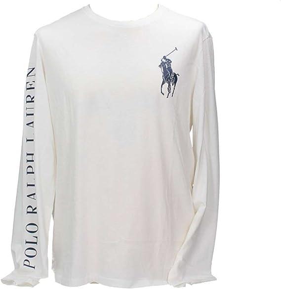 Polo Ralph Lauren 710693642003 Camiseta Hombre Blanco L: Amazon.es: Ropa y accesorios