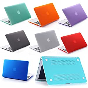 "MU helada superficie mate duro de la cubierta de Shell de goma duro caso Macbook Air Pro Retina 11 ""12 & # 39, & # 39, 13"" 15 ""11.6"" 13.3 ""15.4"", Pro de 12 pulgadas Retina, Clear"