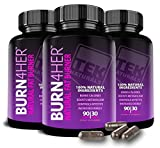 Burn4Her™ All Natural #1 Rated Fat Burner For Women- 12 Fat Burning Ingredients, 90 Pills, 30 Day Supply - Lose Weight, More Energy & More Definition (3)