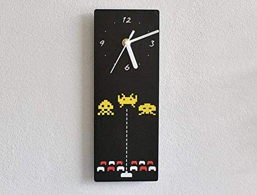 Space Invaders - I Love The 80s Wall Clocks