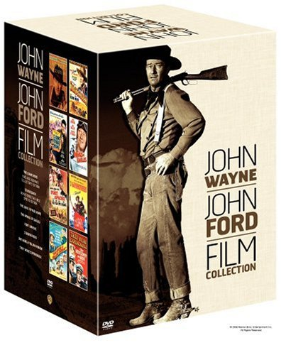 John Wayne-John Ford Film Collection (The Searchers Ultimate Edition / Stagecoach Two-Disc Special Edition / Fort Apache / She Wore a Yellow Ribbon / The Long Voyage Home / They Were Expendable / 3 Godfathers / The Wings of Eagles) by Warner Home Video