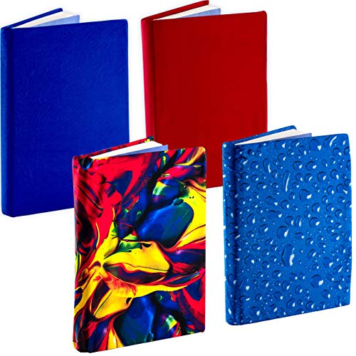 Jumbo, Stretchable Book Cover Color 4 Pack. Fits