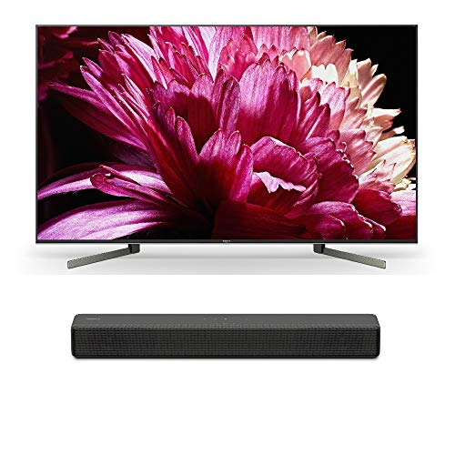 "Price comparison product image Sony XBR55X950G 55"" BRAVIA 4K Ultra HD HDR Smart TV (2019 Model) with Sony HT-S200F 2.1 Channel Bluetooth Soundbar with Integrated Subwoofer"