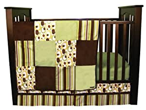 Trend Lab 3 Piece Crib Bedding Set, Gigi