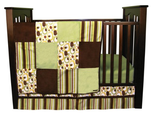 Trend Lab 3 Piece Crib Bedding Set, Gigi