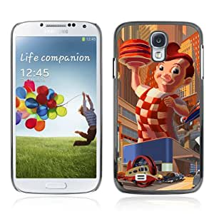 Designer Depo Hard Protection Case for Samsung Galaxy S4 / Big Boy Retro Painting