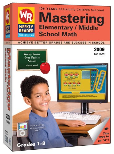 Weekly Reader Learning System Mastering Elementary & Middle School Math 2009