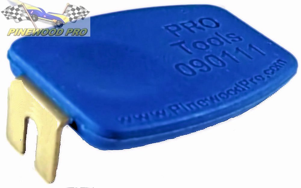 Pinewood Pro PRO Axle Inserter Guide from for inserting axles in pine car blocks