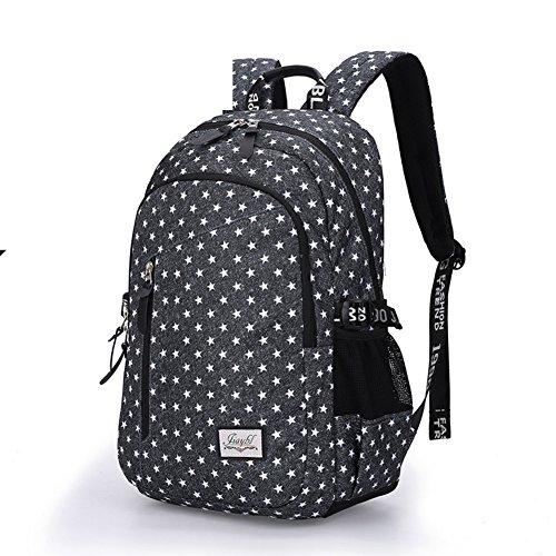 Mochila ligera de gran capacidad,bolso ocasional del estudiante del recorrido-D A
