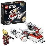 LEGO StarWars MicrofighterY-WingdellaResistenza, Set da Costruzione,Collezione L'Ascesa di Skywalker, 75263  LEGO