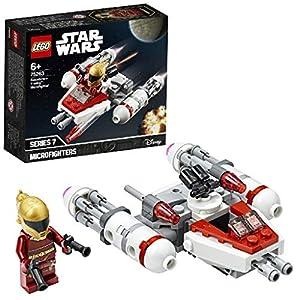 LEGO Star Wars - Microfighter Y-Wing della Resistenza con la Minifigure di Zorii Bliss con 2 Pistole Blaster, Set di… LEGO Star Wars LEGO