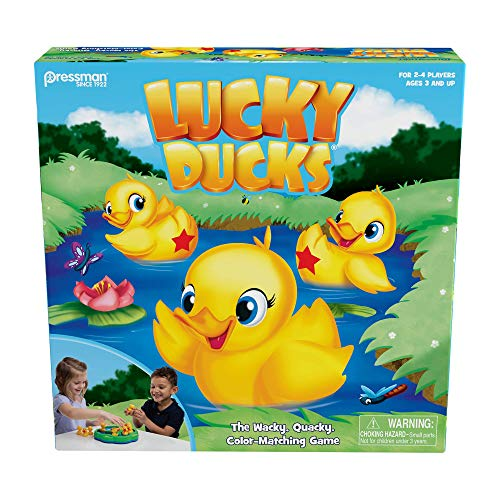 Lucky Ducks — The Memory and Matching Game that Moves