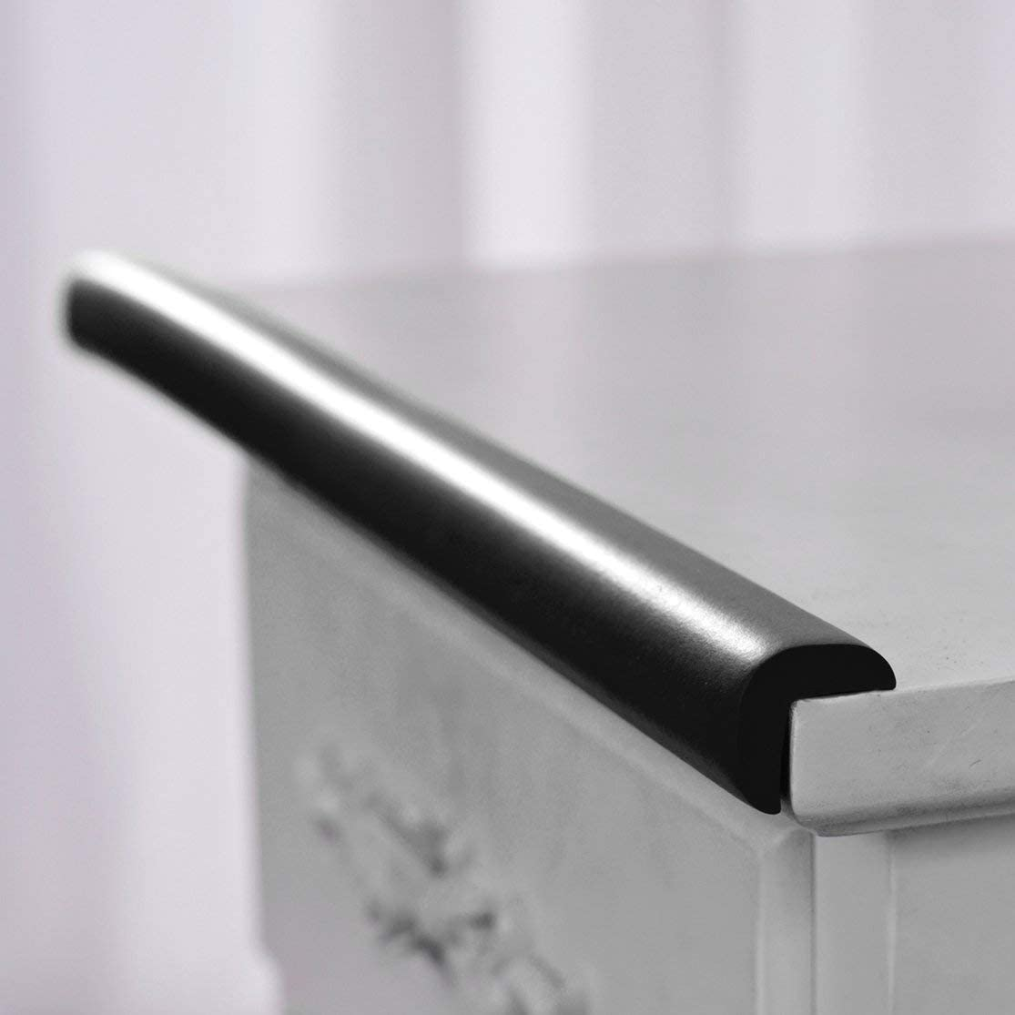 LouiseEvel215 2 M U Forme Extra /Épaisse Meubles Bord De Table Corne r Protections Protecteur De Couverture De Bureau Mousse B/éb/é S/écurit/é Bumper Guard