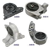 engine for mitsubishi eclipse - Engine Motor & Trans Mount Set 4PCS for 2000-2005 Mitsubishi Eclipse 3.0L Manual Transmission MR272203, MN101072, MR272206, MR272217, EM9160, EM9187, EM5349, EM5452