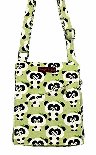 (Bungalow 360 Small Messenger Bag (Panda) )