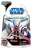 Star Wars Clone Wars Action Figure No. 15 Asajj Ventress