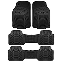 Protect your vehicle's floor with our high quality vinyl floor mats. Specially designed ridges trap water, dirt, mud, sand and more to save your carpeting.