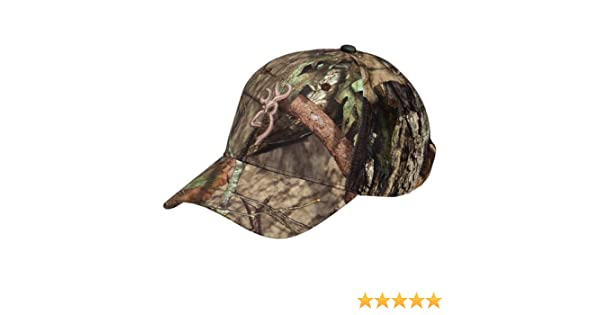 Amazon.com : Browning 308150281 Trail-Lite Cap, Mossy Oak Break Up Country : Sports & Outdoors