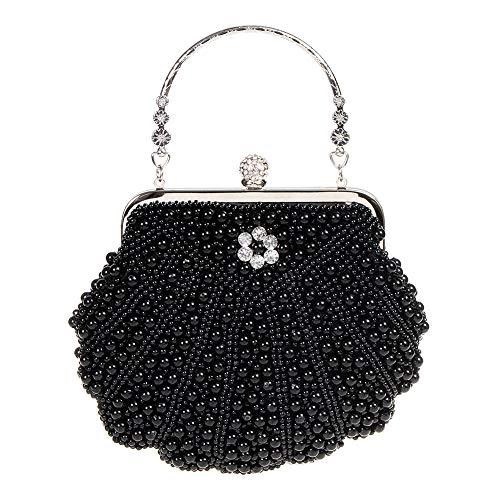 Bag Banned nero Vintage Eleanor Clutch 20s qx6vTwY