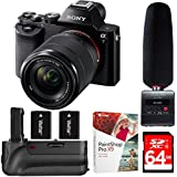 Sony a7K Full-Frame Mirrorless Camera with FE 28-70mm f/3.5-5.6 OSS (ILCE-7K/B) + Tascam DR-10SG Audio Recorder & Microphone Kit