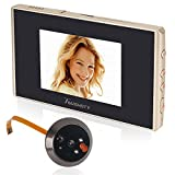 Toughsty™ 3.5 Inch Ultra-thin Digital Peephole Door Viewer Motion Activated 120° Touch Screen with Doorbell Function