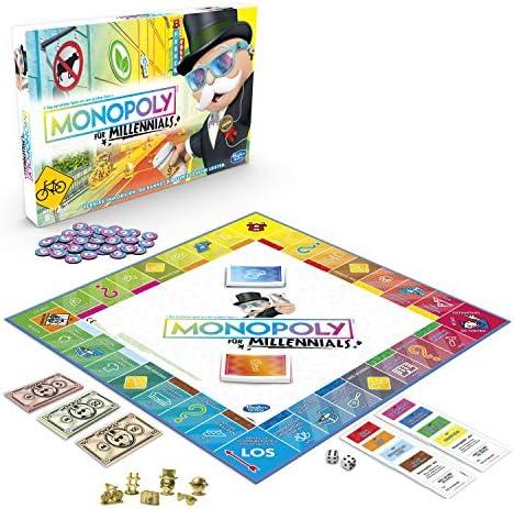 Hasbro Monopoly for Millennials Simulación económica Niños y Adultos - Juego de Tablero (Simulación económica, Niños y Adultos, 1 Pieza(s)): Amazon.es: Juguetes y juegos