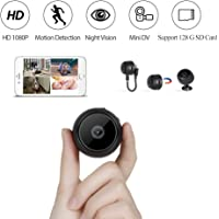 Innoo Tech Mini WiFi Spy Camera Hidden Security Camera HD 1080P Wireless Portable Small Camera with Motion Detection and Night Version Home Nanny Cam Video Recorder for Indoor Outdoor Use