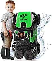 Ruko C11 Amphibious RC Cars 1:10 Scale Large Monster Truck, 2.4 GHz Waterproof Remote Control Car, 4WD Off Roa