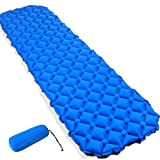 GZQ Sleeping Mat Inflatable Pad Folding Camping Mattress Compact Lightweight for Hiking Backpacking Hammock Tent and Traveling