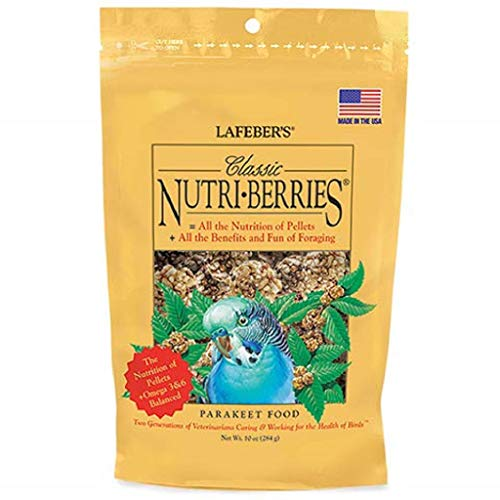 Lafeber's Classic Nutri-Berries for Parakeets 10 oz