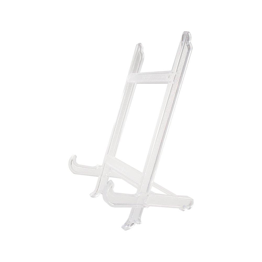 Hetoco Grande Plaque Support Cadre Photo avec Support chevalet Support de présentation - Blanc