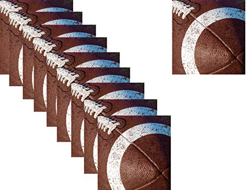 - Bulk Football Super Bowl Party Supply Luncheon/Dinner Napkins for 144 - Tailgate Rush