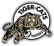 Hamilton Tiger Cats Logo Football Sport Sticker Decal Design 5'