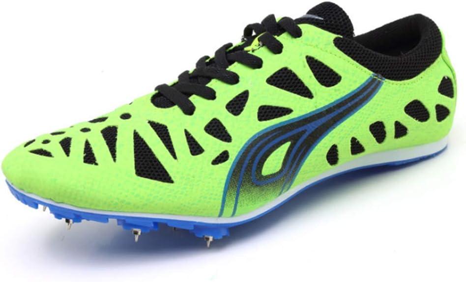 CVDEKH Zapatillas De Atletismo para Hombre Running Spikes Hombres ...