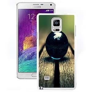 Beautiful Designed Antiskid Cover Case For Samsung Galaxy Note 4 N910A N910T N910P N910V N910R4 Phone Case With Black Marble On Wood Macro_White Phone Case