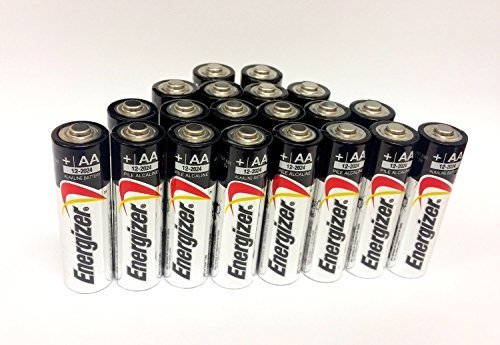 Energizer AA Max Alkaline E91 Batteries Made in USA – Expiration 12/2024 or later – 20 count Review