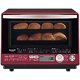 シャープ 加熱水蒸気オーブンレンジ 31L 2段調理 レッド RE-SS10C-R
