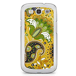 Paisley 9 Samsung Galaxy S3 Transparent Edge Case - Colorful Paisley Collection